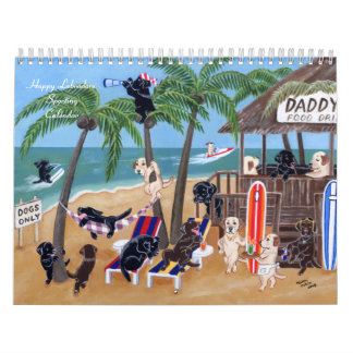 Happy Labradors Sporting Calendar 2017