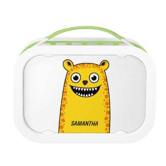 Happy leopard lunch box
