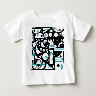 Happy life - Blue Baby T-Shirt