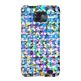 HAPPY Life Expression : NERD Abstract Art Samsung Galaxy SII Cases