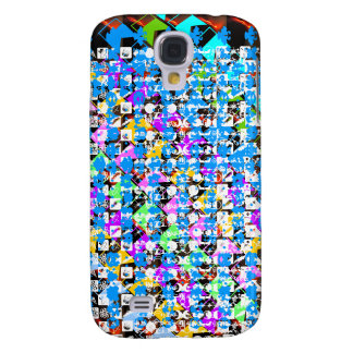 HAPPY Life Expression : NERD Abstract Art Galaxy S4 Cases