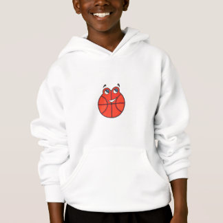 Happy Little Basketball kids hooded sweatshirt