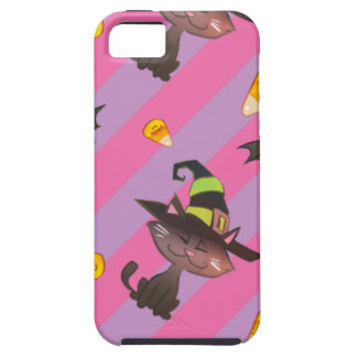 Happy Little Halloween Bat and Cat iPhone 5 Cover