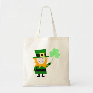Happy Little Leprechaun Budget Tote Bag