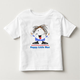 Happy little Man Toddler T-shirt
