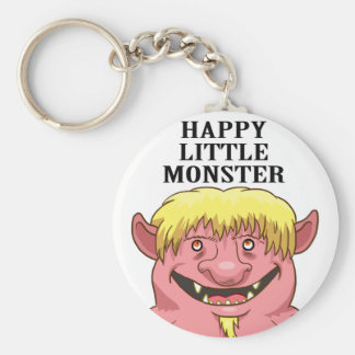 HAPPY LITTLE MONSTER KEYCHAINS