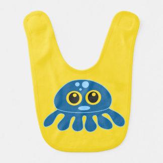 Happy Little Octopus Bib