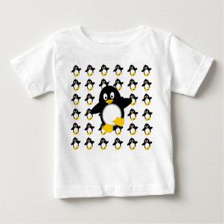 Happy Little Penguin Baby T-Shirt