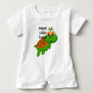 Happy Little Turtle Baby Romper