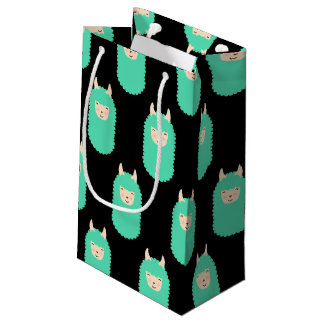 Happy Llama Emoji Gift Bag