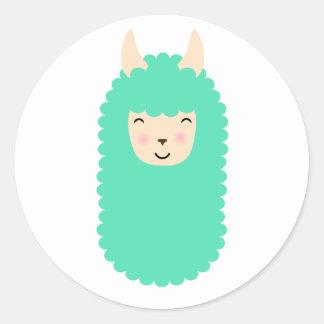 Happy Llama Emoji Stickers