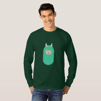 Happy Llama Men's Long Sleeve Shirt
