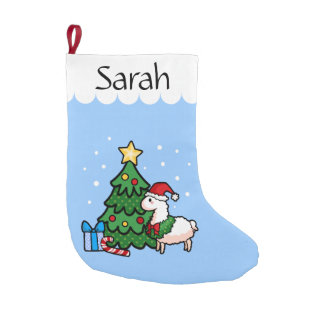 Happy Llamadays Small Christmas Stocking