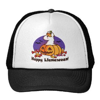 Happy Llamaween Trucker Hat