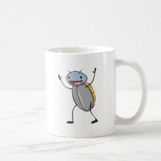 Happy Madagascar Hissing Cockroach Cartoon Coffee Mug