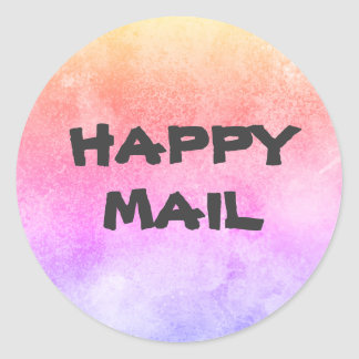 Happy Mail envelope seal