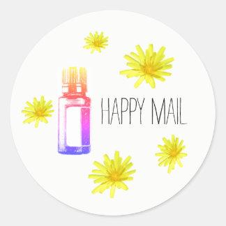 Happy Mail essential oil envelope seal