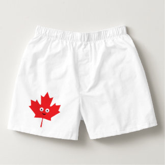 Happy Maple Leaf Boxers