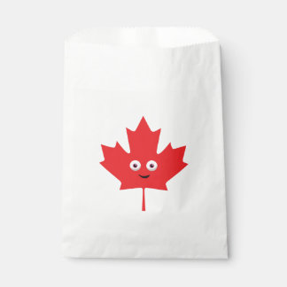 Happy Maple Leaf Favour Bag