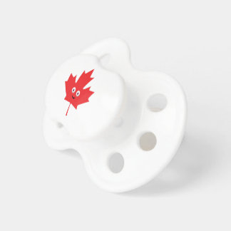 Happy Maple Leaf Pacifier