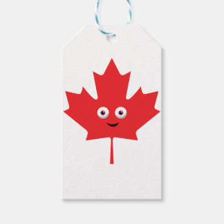 Happy Maple Leaf Pack Of Gift Tags