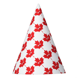 Happy Maple Leaf Party Hat