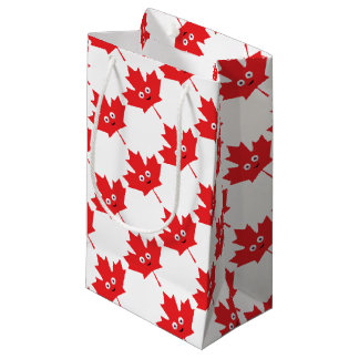 Happy Maple Leaf Small Gift Bag