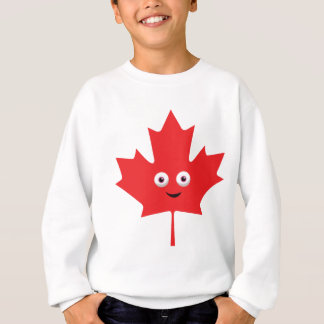 Happy Maple Leaf Sweatshirt