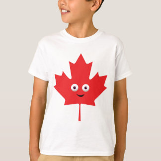 Happy Maple Leaf T-Shirt