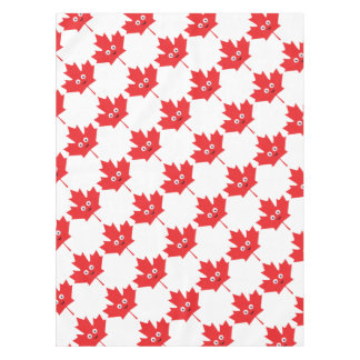 Happy Maple Leaf Tablecloth