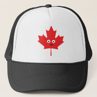 Happy Maple Leaf Trucker Hat