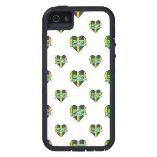 Happy Mardi Gras Logo iPhone 5 Case