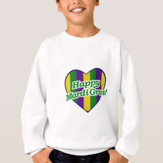 Happy Mardi Gras Logo Sweatshirt