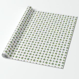 Happy Mardi Gras Logo Wrapping Paper