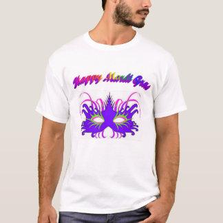 Happy Mardi Gras Mask T-Shirt