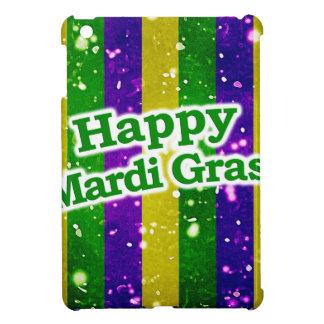 Happy Mardi Gras Poster iPad Mini Case