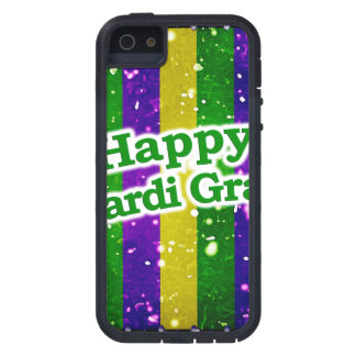 Happy Mardi Gras Poster iPhone 5 Case