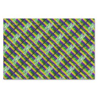Happy Mardi Gras Poster Tissue Paper
