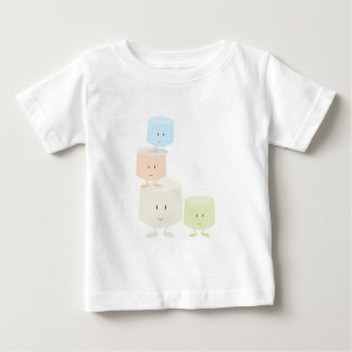 Happy marshmallows baby T-Shirt