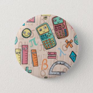 Happy Math 2 Inch Round Button