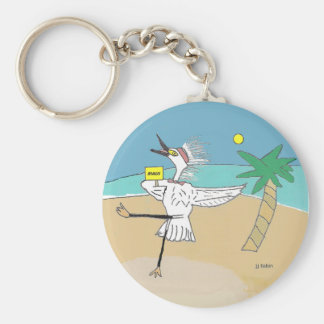 Happy Maui Visitor Keychain