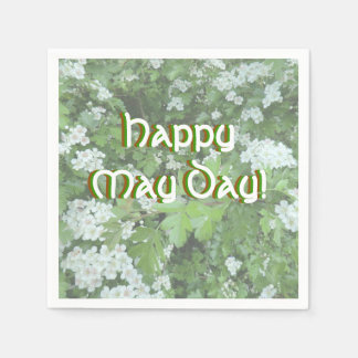 Happy May Day Cocktail Napkins (Standard)