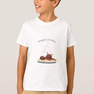 """Happy Meatball """"Pasta La Vista!"""" T-Shirt"""