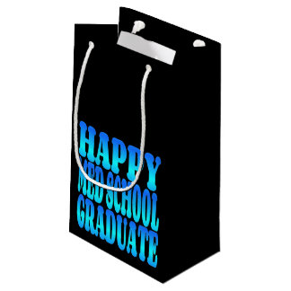 Happy Med School Graduate Small Gift Bag