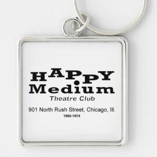 Happy Medium Theatre Club, Rush St., Chicago, IL Keychain