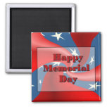 Happy Memorial Day Refrigerator Magnets