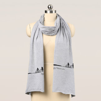 Happy Memories / Moments Soft Jersey Scarf