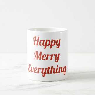 Happy Merry Everything Mug