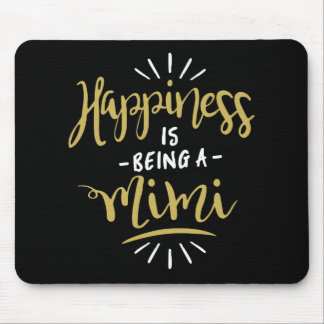 Happy Mimi Mouse Pad