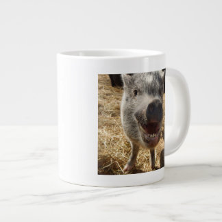 Happy Mini Pig Jumbo Mug